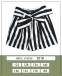 Летние шорты с завышенной талией для девочки MONE 2018, цвет полоска 2