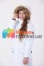 Пальто-парка зимняя для девочки Huppa MONA 12200030, цвет 70020 10