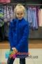 Кашемировое пальто для девочки Suzie Жанна, цвет электрик 1