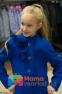 Кашемировое пальто для девочки Suzie Жанна, цвет электрик 4