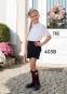 Школьная юбка-шорты Sly 403B/S/19, цвет синий 2