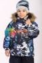 Зимний комплект для мальчика Huppa WINTER 41480030, цвет 92886 5