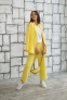 Трикотажный костюм для девочки Filatova, цвет желтый 4