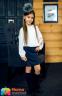 Школьная юбка Sly 303A/S/18, цвет черный 2