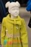 Кашемировое пальто для девочки Suzie Изольда, цвет горчичный 1