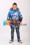 Куртка зимняя для мальчика Huppa NORMAN 18210030L, цвет 92435 5