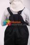 Штаны зимние на подтяжках детские Joiks SB01, цвет черный 3