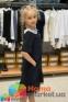 Школьное платье MONE 1618-2 с кружевным воротничком, цвет синий 5
