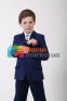 Классический школьный костюм для мальчика Lilus 217/2 цвет 1405, цвет синий 6