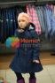 Пальто демисезонное для девочки Huppa LEANDRA 18030004, цвет 00086 3