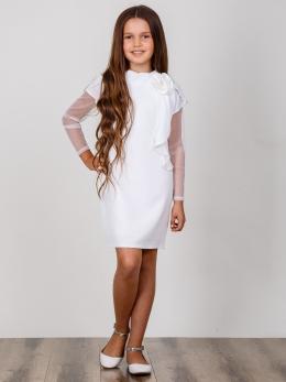 99c29dba454840d Элегантное платье для девочки Suzie Лорелея цвет белый. Акция